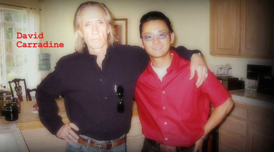 David Carradine Interview, kill bill, quentin tarantino, hal ashby, kung fu, uma thurman, keith carradine